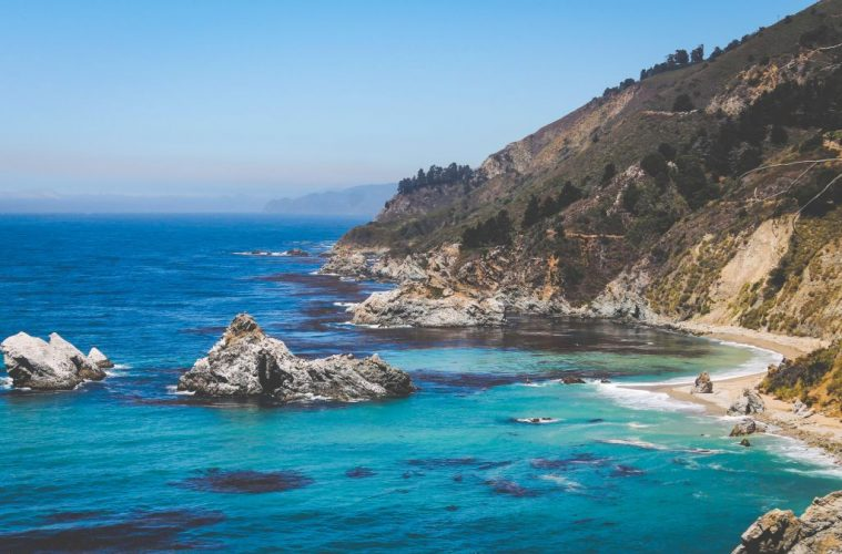 california coast brandon norton via unsplash