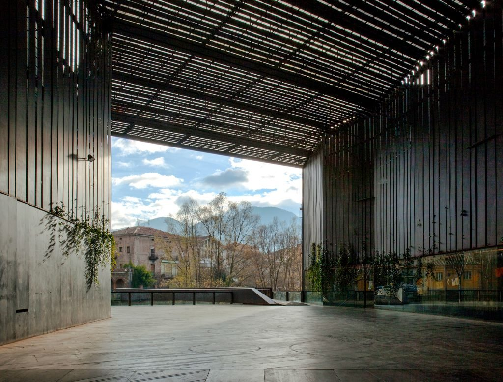 La Lira Theater Public Open Space, 2011, Ripoll, Girona, Spain