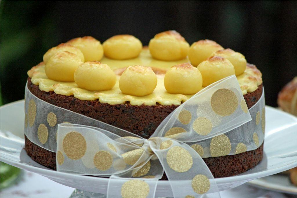 Simnel Cake Recipe  Inch Tin