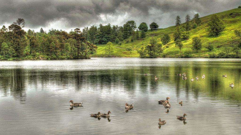Coniston Water British Isles England United Kingdom