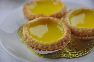 egg custard tart recipe