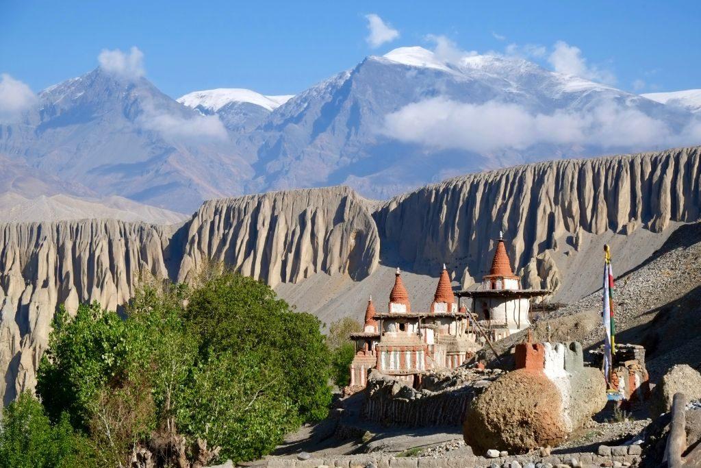 Upper_Mustang tangye village monastery - 1024 x 683