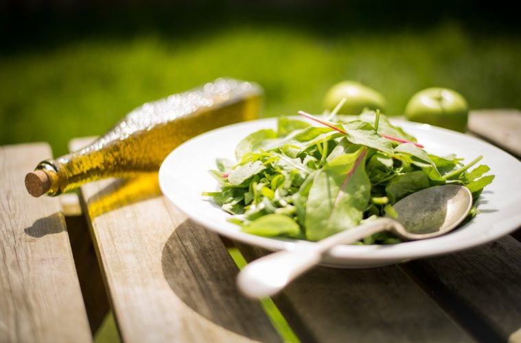 apple cider vinegar salad