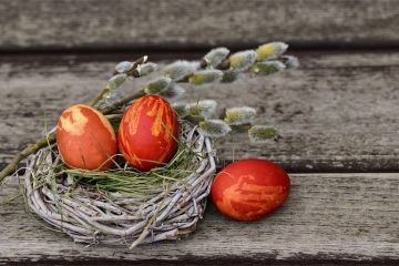 easter eggs - tips for a sustainable easter break