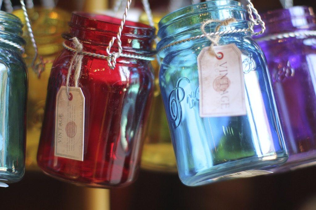 Eco-Friendly mason jars