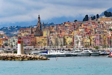 menton-france - lesser known Europe travel destinations