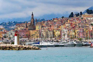 menton-france - lesser known Europe travel destinations