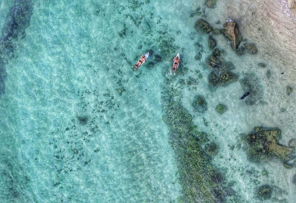 nusa dua bali best drone photos