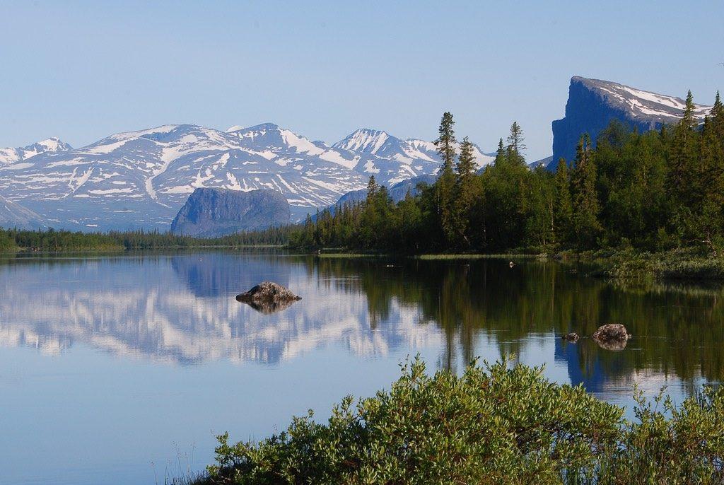 sarek, sweden national parks