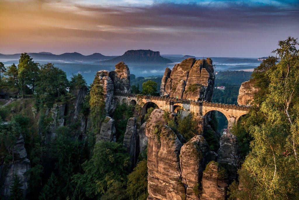 Saxon Switzerland, Germany national parks