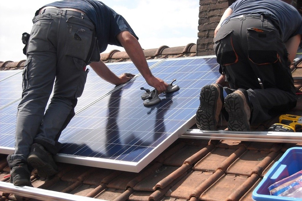 solar panels solar panel installation