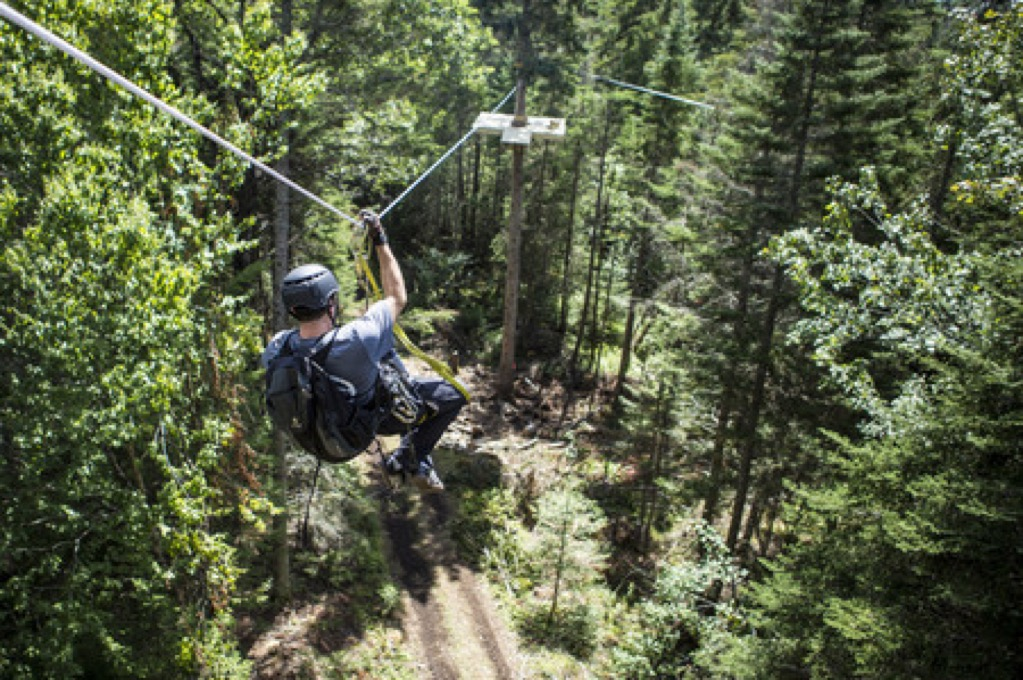 Adirondack NY New York Outdoor Adventure Ziplining