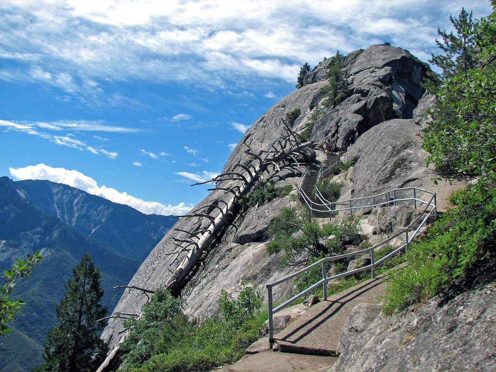 California Parks Outdoor Adventures Moro Rock Sequoia & Kings Canyon National Parks
