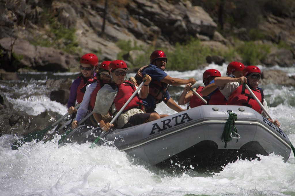 California Parks Outdoor Adventures Rafting Rapids