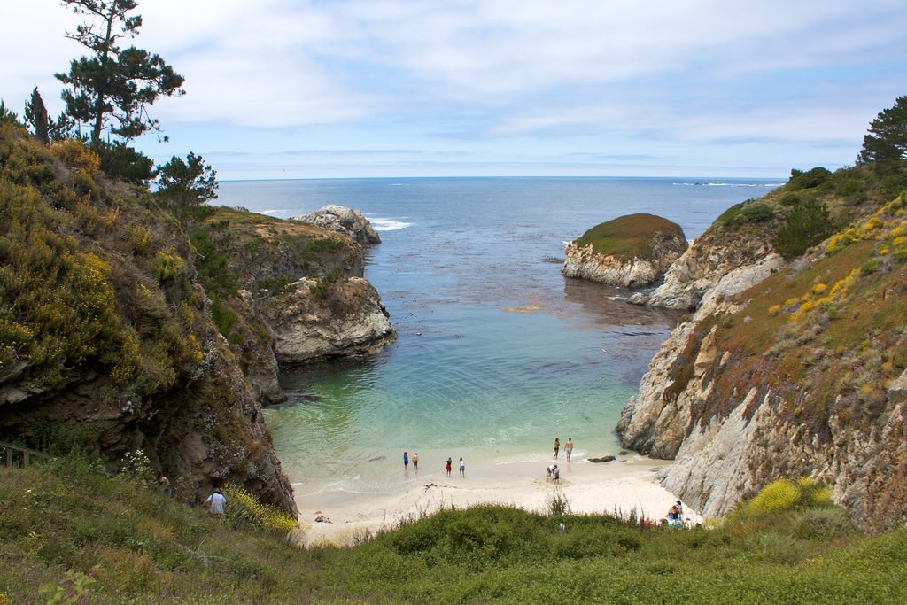 Best beaches in the U.S China Cove, Point Lobos State Park
