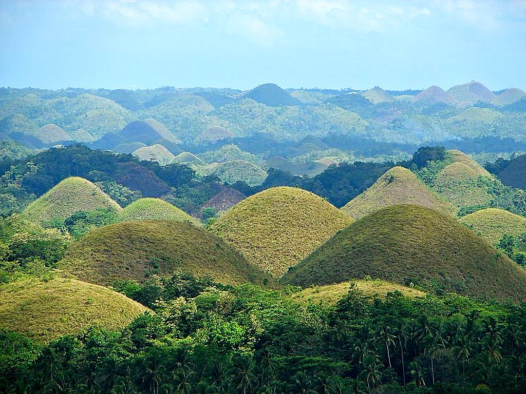 Chocolate Hills Landscapes