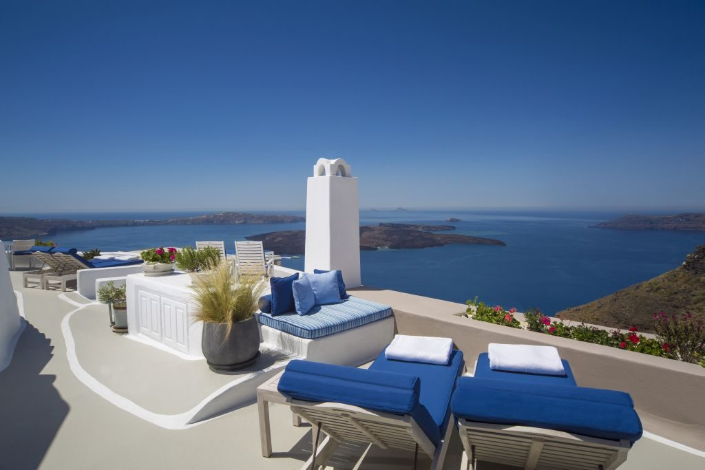 Dedicated Terrace Views Iconic Santorini
