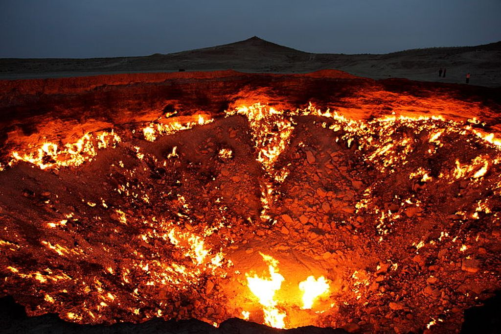 Door to Hell Landscapes