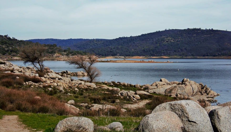 Folsom Lake bike paths