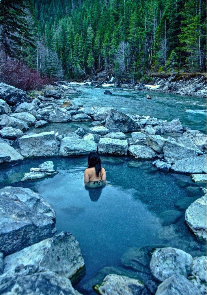 Lussier Hot Springs Canada