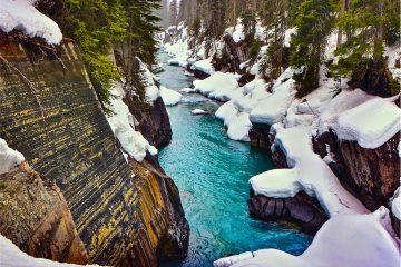 Canada Rockies Numa Falls
