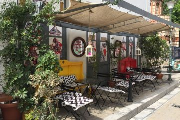 Athens bar cafe in Psirri