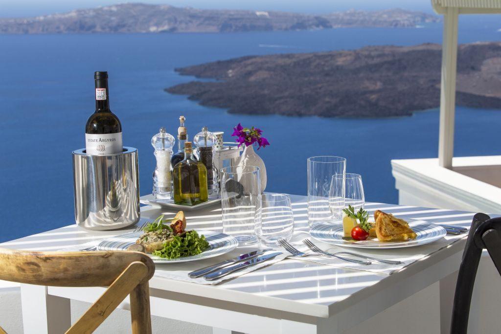 Pergola Restaurant Iconic Santorini