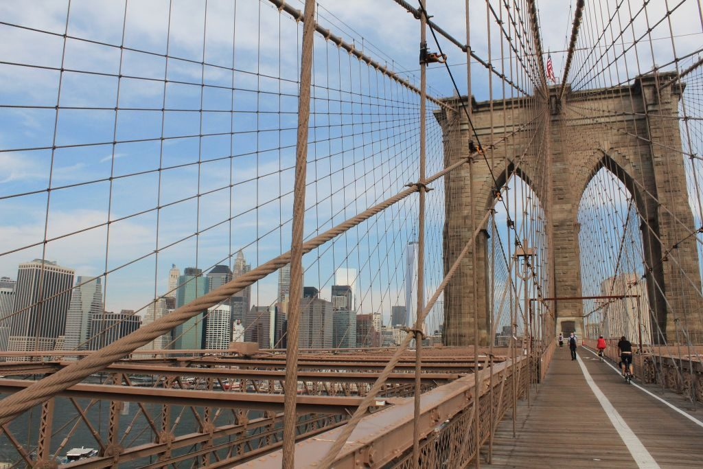 bike paths brooklyn bridge - 1024 x 683