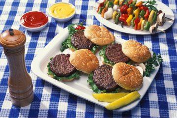 burgers fast food