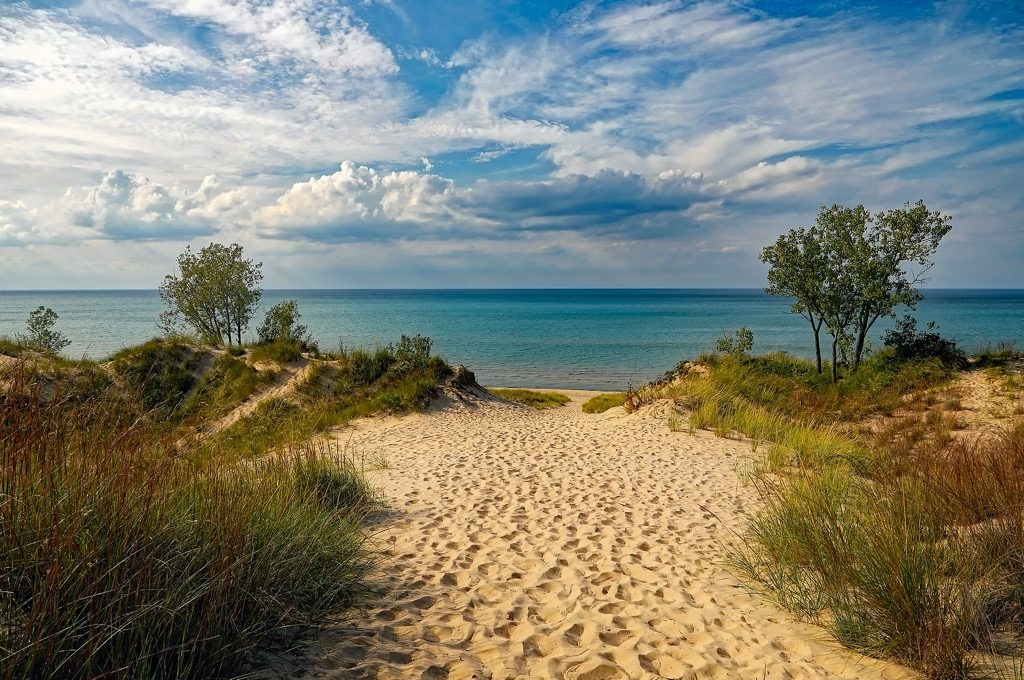 Best beaches in the U.S Indiana Dunes State Park Michigan