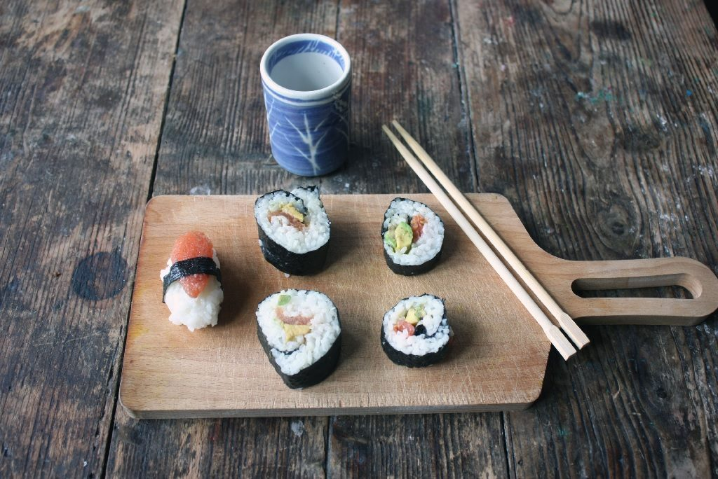 sushi vegan recipe