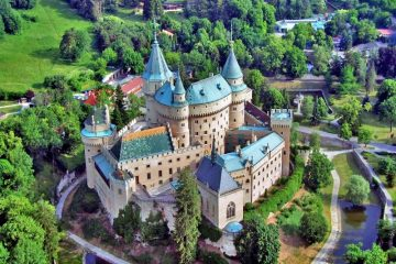 Bojnice_Castle slovakia Europe travel