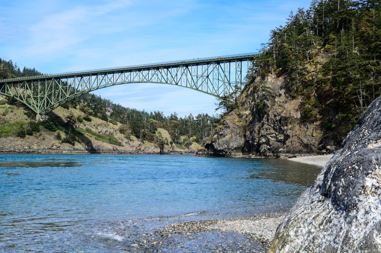 View from Deception Pass State Park