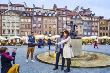 Warsaw Attractions Old Town Market Square Poland travel
