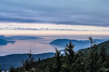 View-of-the-San-Juans-From-Mt-Constitution Pacific Northwest