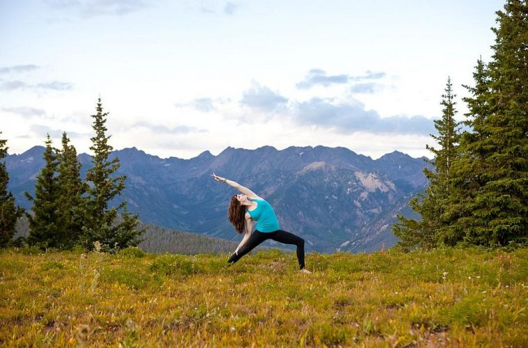 Yoga Pose stress management