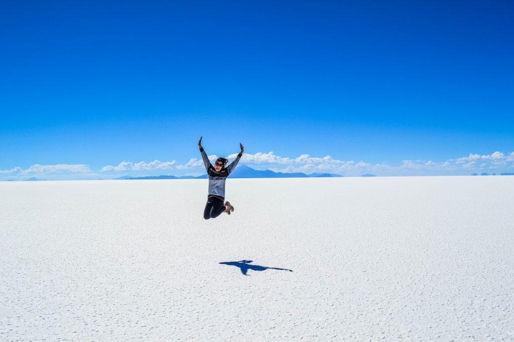 Salt Flats Salar de Uyuni, Daniel Campos, Bolivia outdoors adventure travel ideas adventure travel vacations adventure travel bucket lists