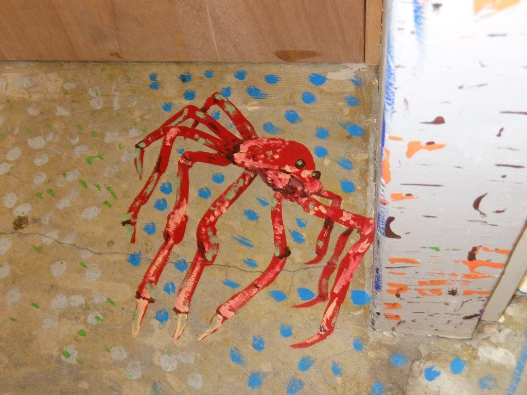 floor painting cocoroom osaka japan