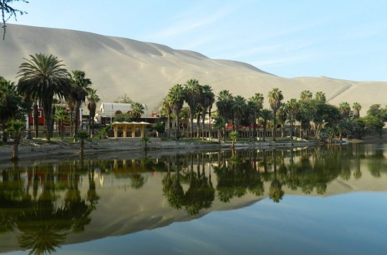 Ica - Peru Travel Water Mirror Oasis Of Huacachina
