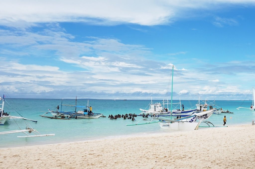 Philippines: View of Bohol Beach