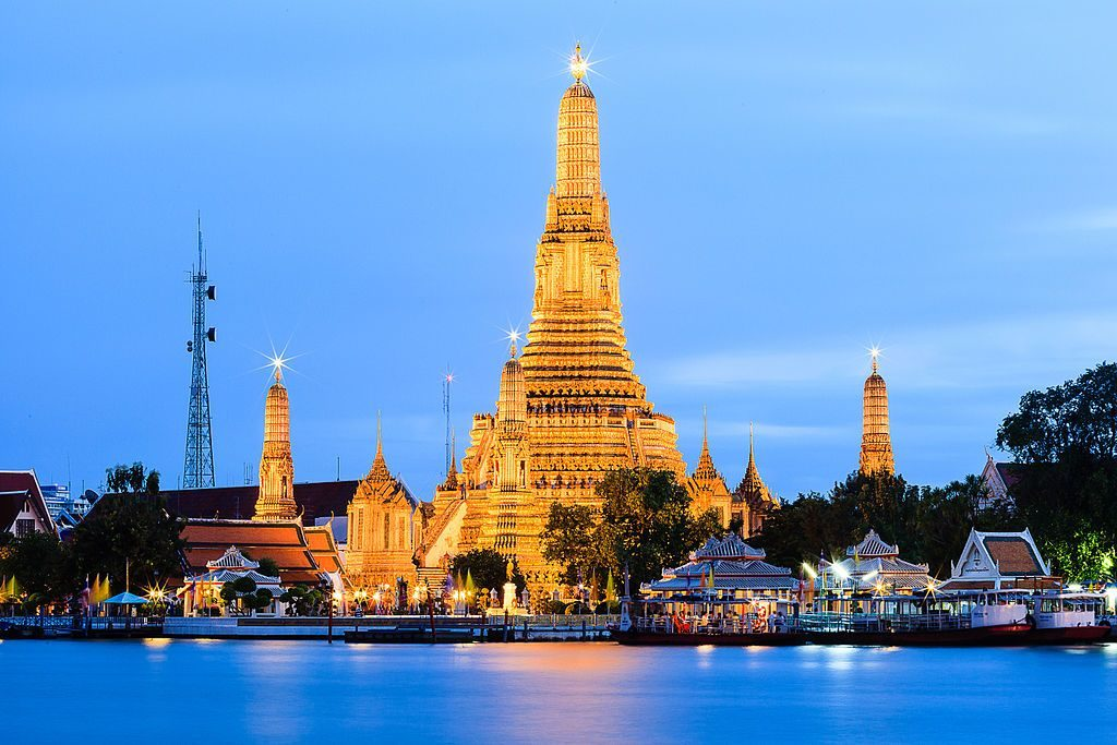 wat arun bangkok thailand top scenic destinations around the world