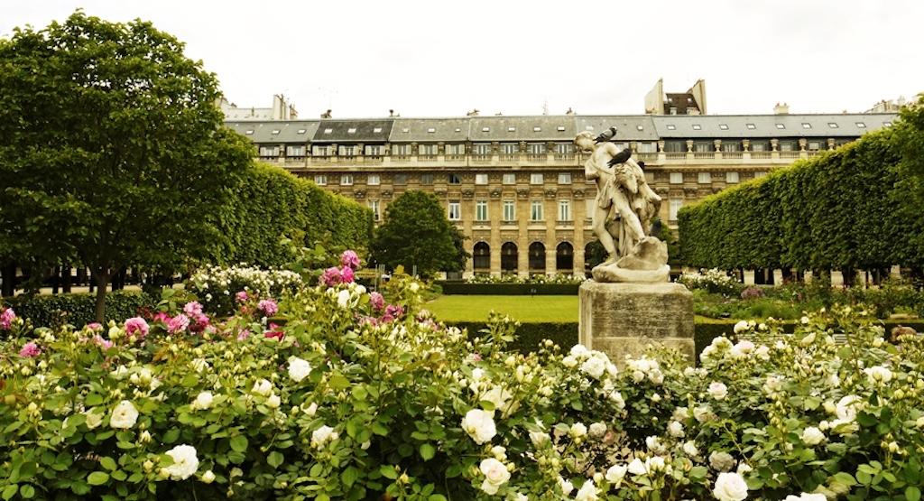 hidden spot: Paris Royal Gardens