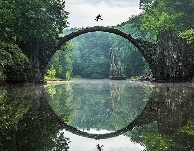 This Amazing Devil S Bridge In Germany Forms A Perfect Circle
