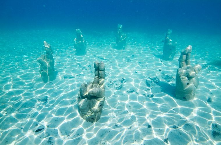 Cancun Underwater Museum - world's strangest and most unique museums