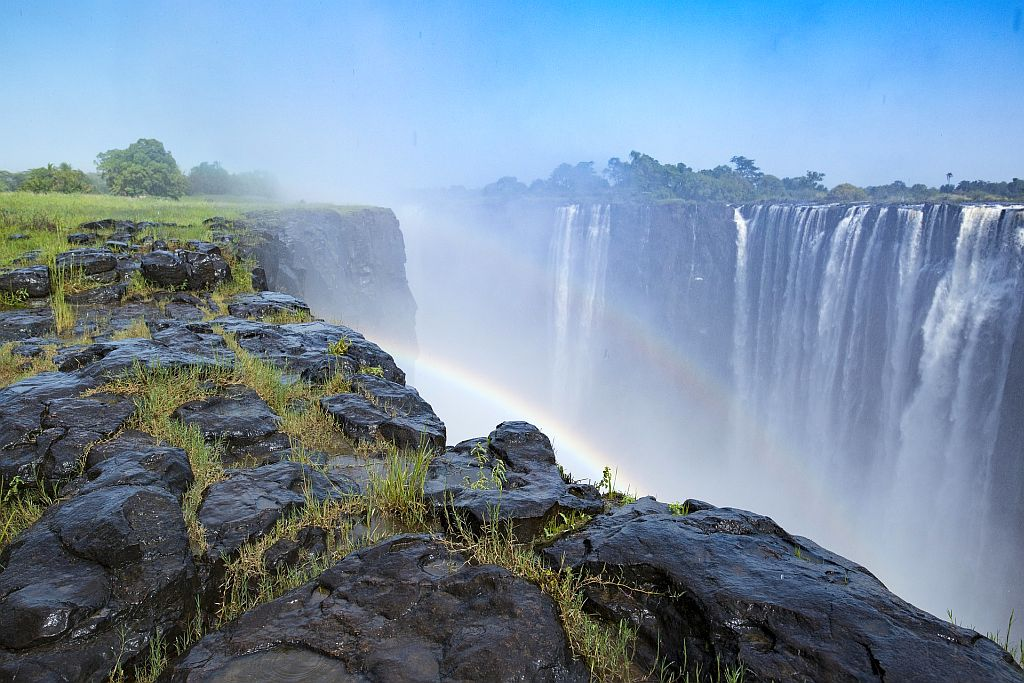Devil's Pool in Zambia