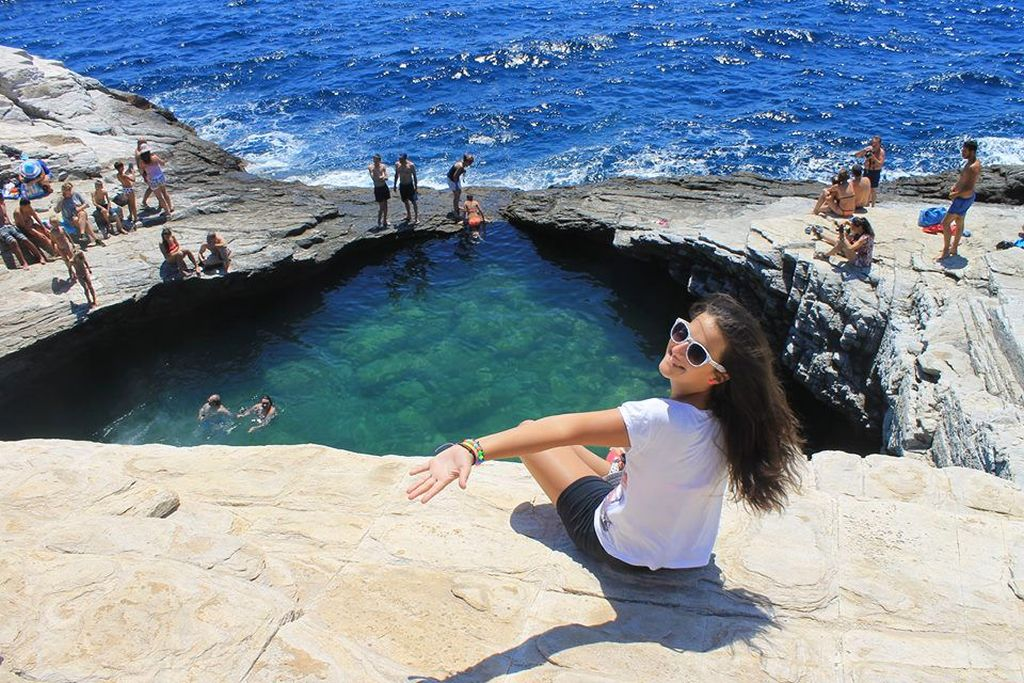 Giola Natural Pool in Greece