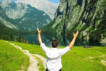 Hiking trip in Berchtesgaden, Germany