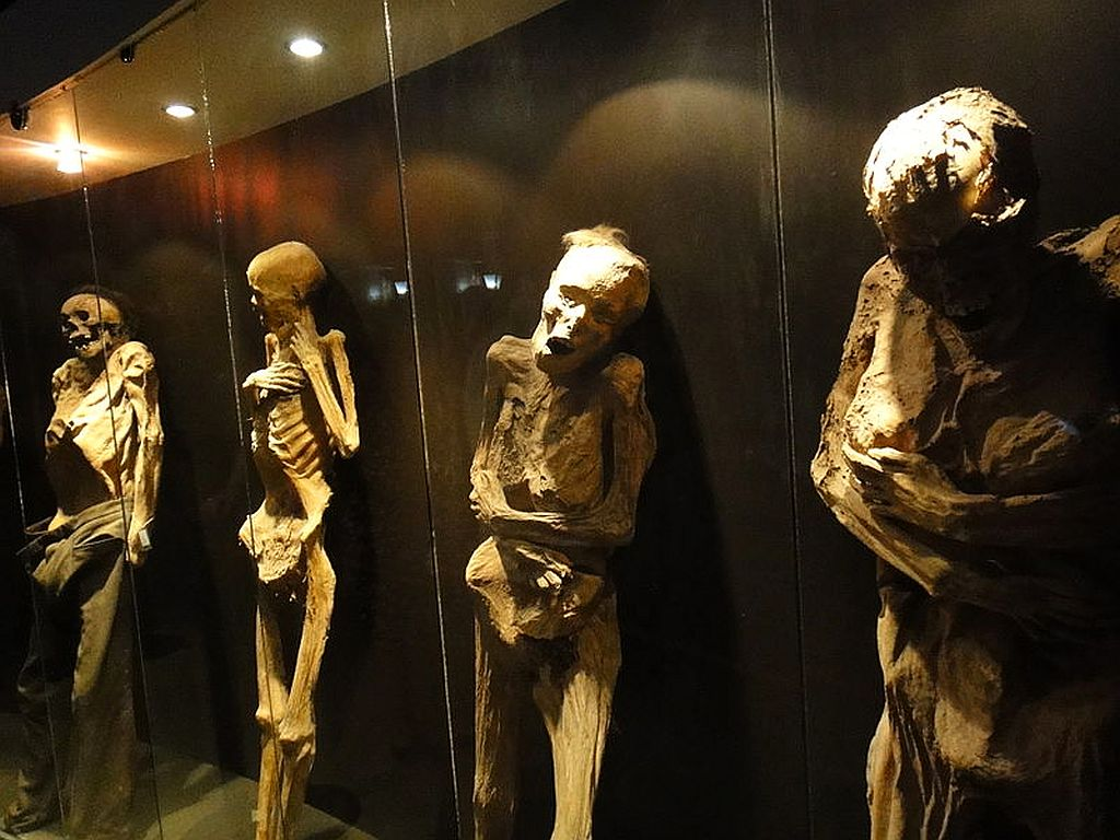 The Mummy Museum in Mexico