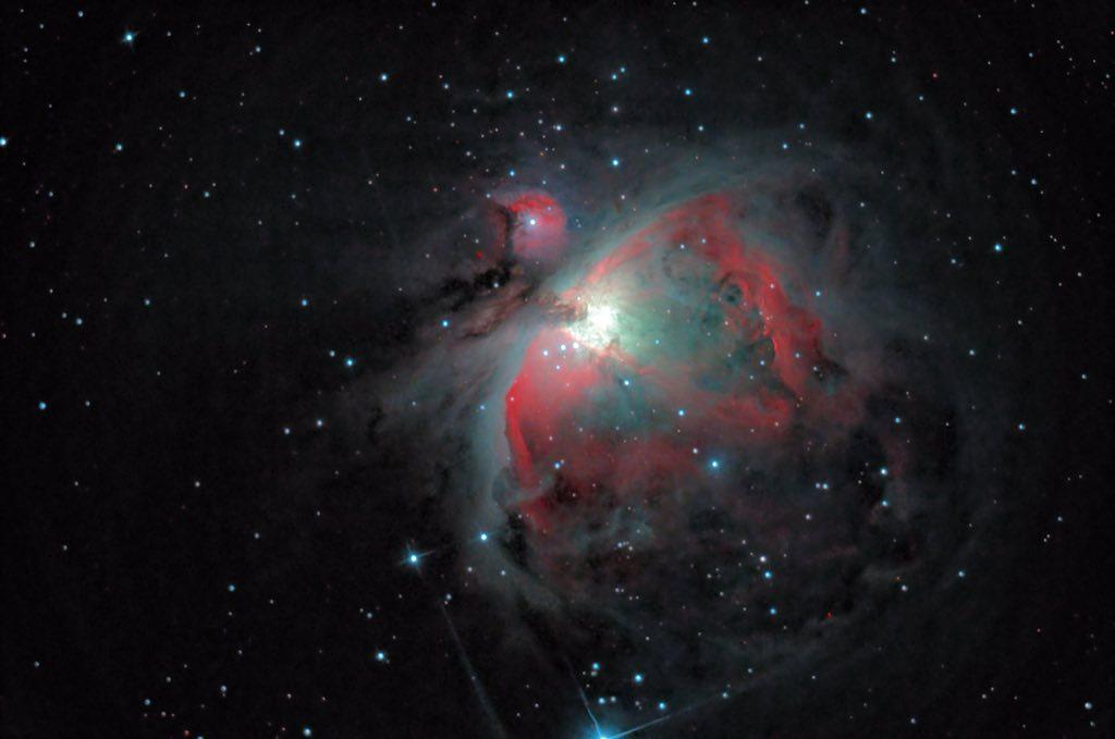 Orion's Gaseous Nebula © Sebastien Grech