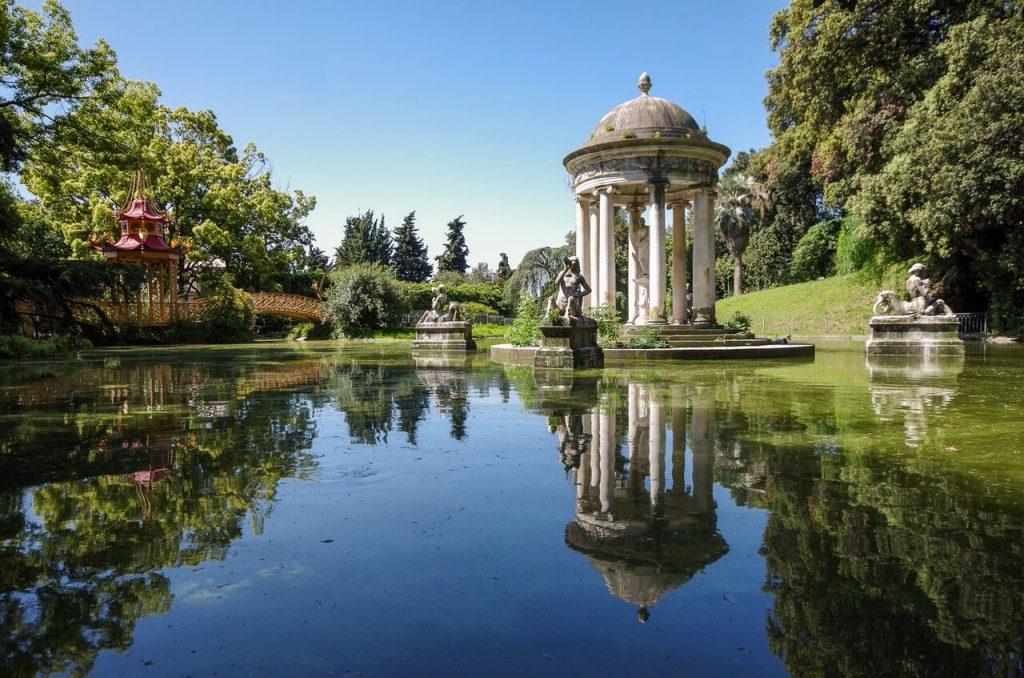 Parco Villa Durazzo Pallavicini, Italy
